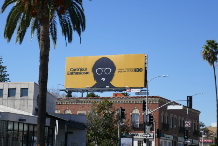 Curb Your Enthusiasm season 10 billboard