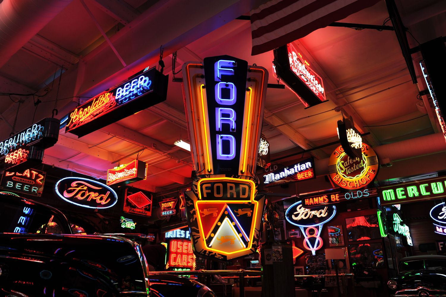 Garage Art Neon Signs Wiki Neon Sign Blog Ford Neon Sign For Store Collection