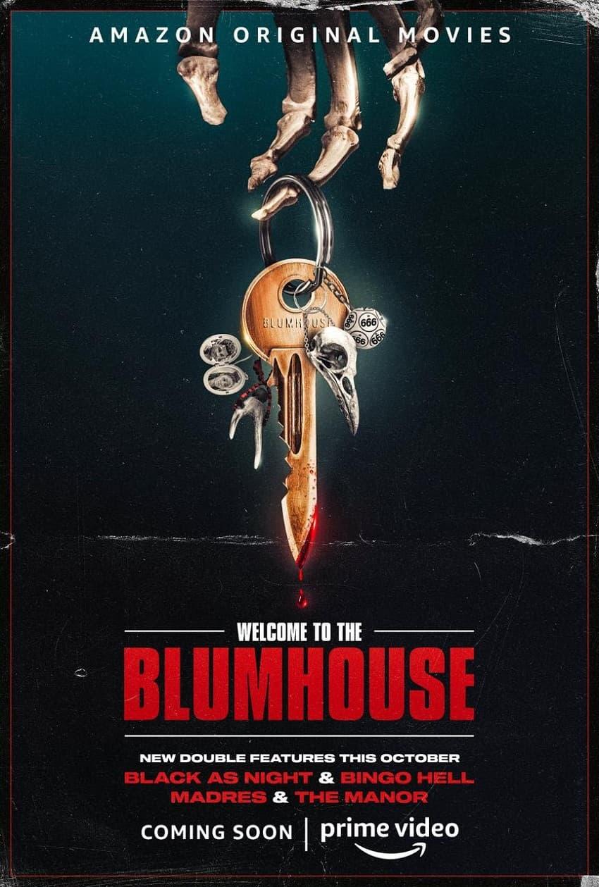 Хоррор-антология «Добро пожаловать в Блумхаус» вернётся на Amazon в октябре - постер