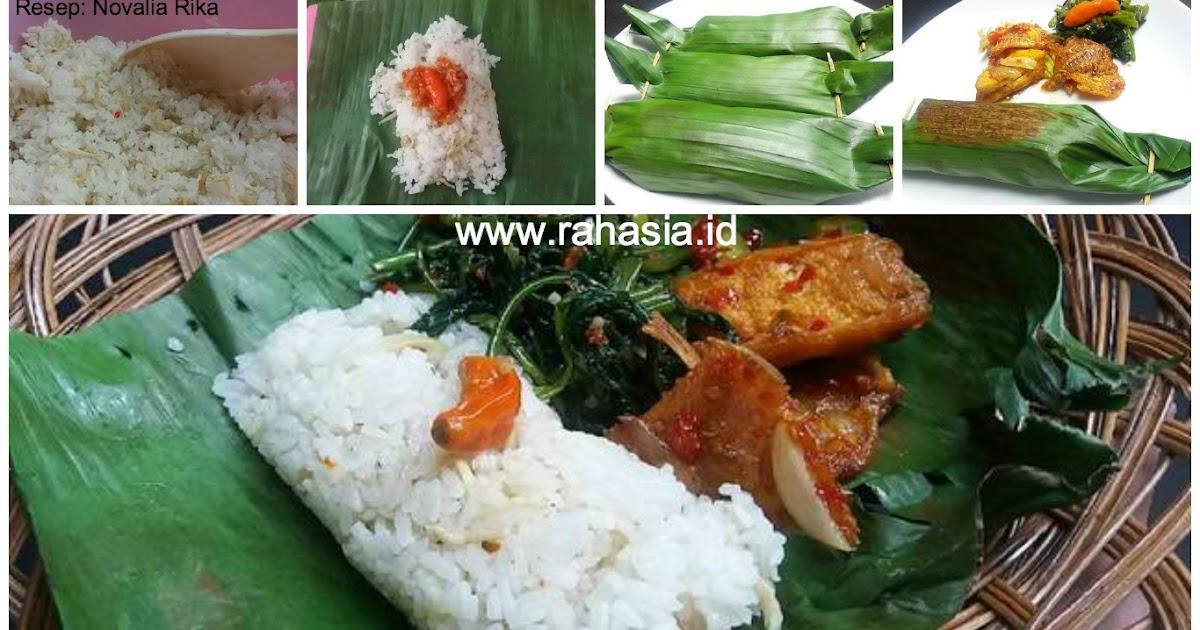 Resep Indonesia: Resep Nasi Bakar Ikan Teri Medan. Bikin