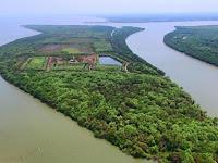 Subhanallah.. Pulau Sarinah, Daratan Yang Terbentuk dari Aliran Lumpur Lapindo Sidoarjo