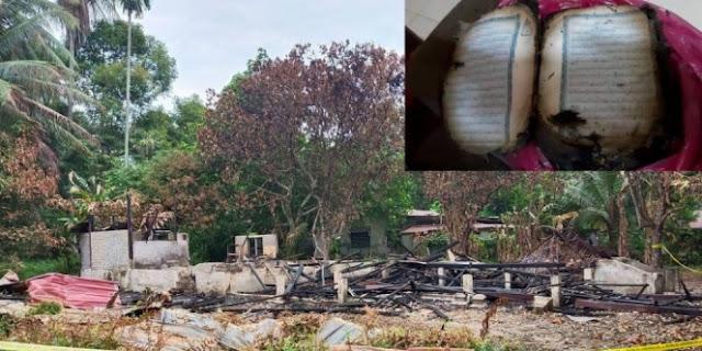 Kuasa Allah! Rumah Ludes Terbakar, Alquran Masih Utuh