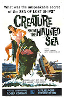 Póster película El monstruo del mar encantado