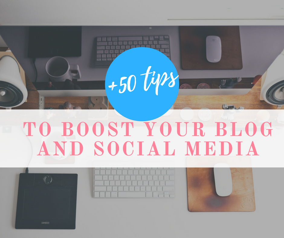 +50 Tips to Boost Your Blog  and Social Media -- We all know how important is social media on the growth of a brand, business, and blog. The way you use social media to spread your brand can make your brand unique and stand out from the others. Most of the persons and brands don't use the social media to grow , so today I'm giving you tips and tools to improve your brand, business, and blog. -- www.imthemother.com -- #ReferralTraffic #SocialMedia #Marketing #GetMoreTraffic #GetMoreFollowers