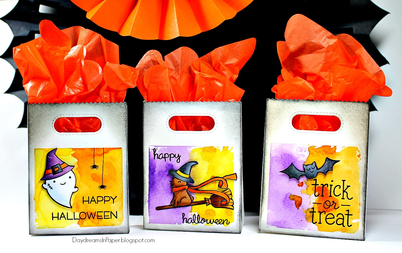 daydreams in paper: lawn fawn - halloween goodie bags
