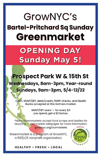 Greenmarket Windsor Terrace Brooklyn New York