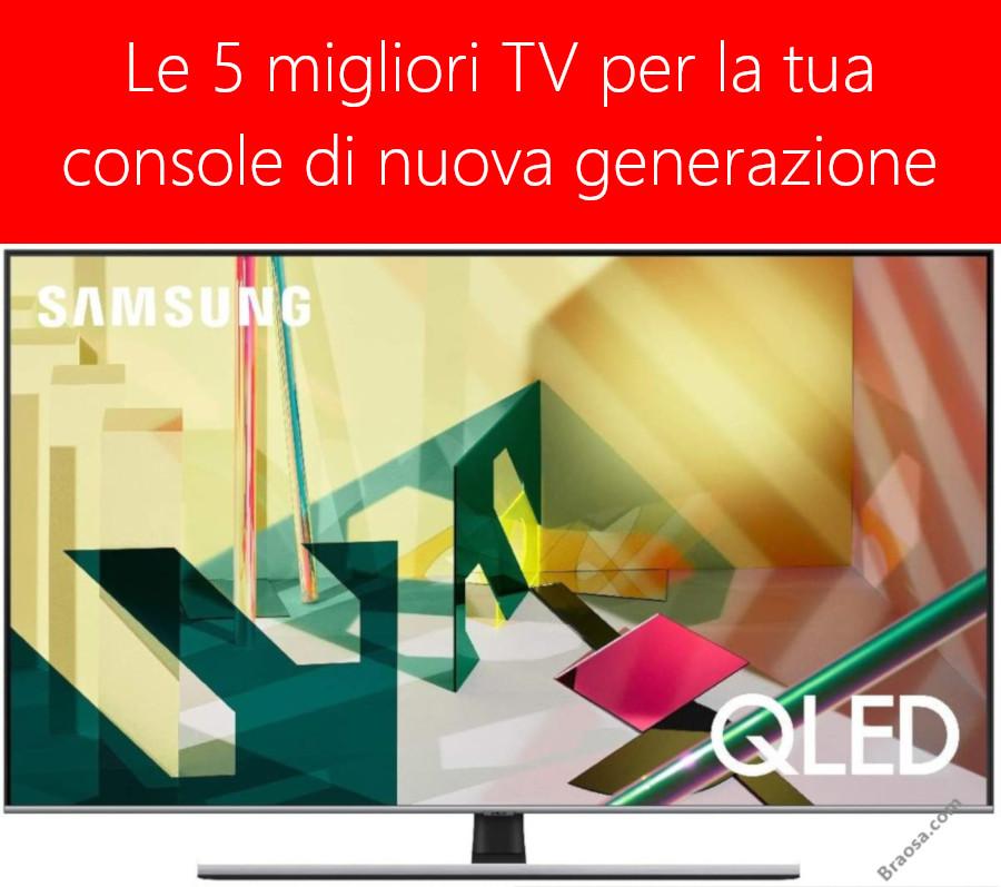 I 5 migliori televisori per la tua console di nuova generazione