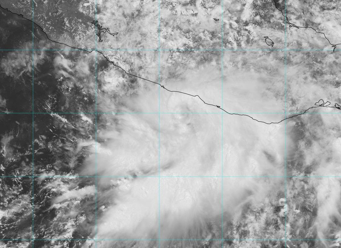 Tormenta tropical Carlotta en el Pacífico
