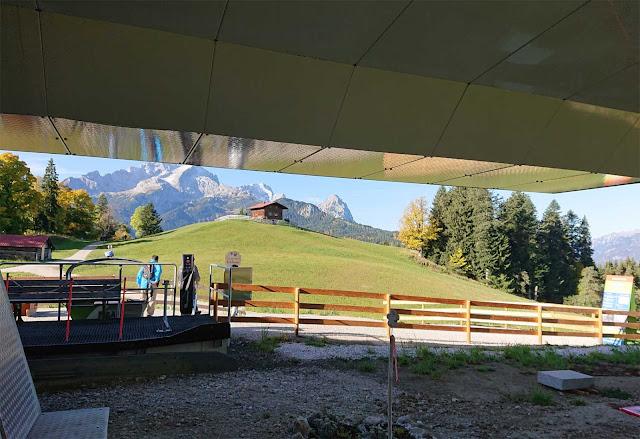 Bergstation der Eckbauerbahn
