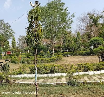 दीनदयाल उपाध्याय पार्क दमोह और बेलाताल तालाब दमोह / सर्किट हाउस दमोह