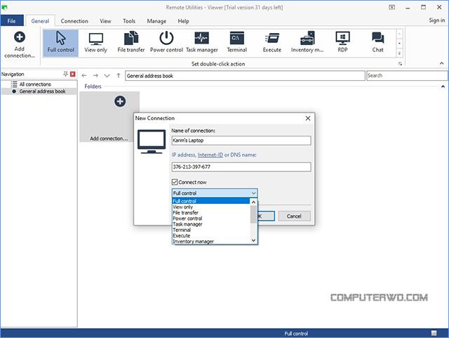 Remote utilities remote connection - برامج تحكم عن بعد عالم الكمبيوتر