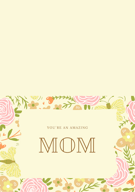 10 Free Printable Folded Mother's Day Cards