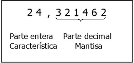 Elementos de un número decimal