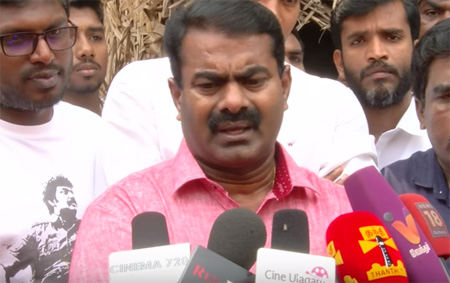 I Can Never Join Hands With Vaiko – Seeman Replies To Velmurugan And R.K.Selvamani