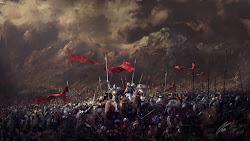 Knights Battlefield Army Medieval 4K Wallpaper #45
