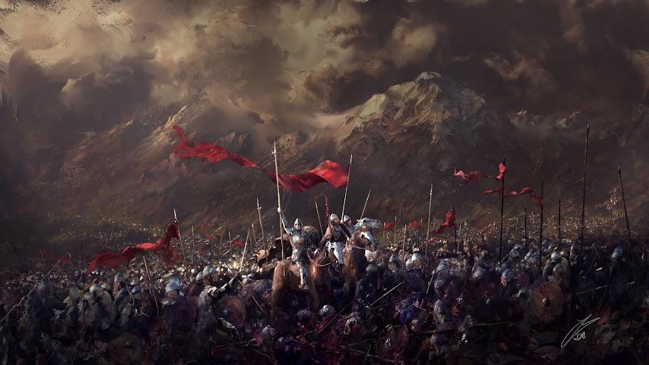 Knights Battlefield Army Medieval 4k 3840x2160 Wallpaper 45