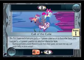 My Little Pony Call of the Cutie High Magic CCG Card