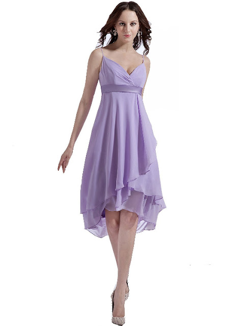 A-line Silhouette Dress with Straps