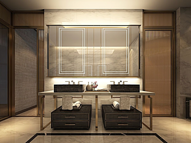 Modern Bathroom Door Design