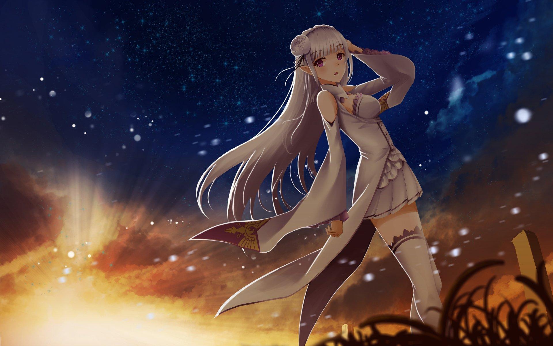 emilia re zero kawai