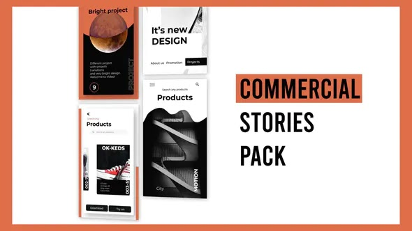 Videohive - Commercial Stories Instagram 28723628