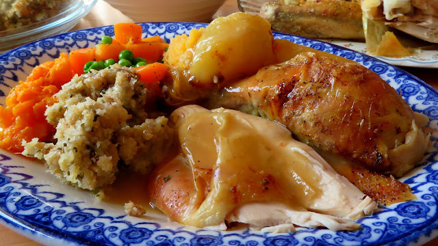 Roast Chicken with a Lemon & Herb Stuffing