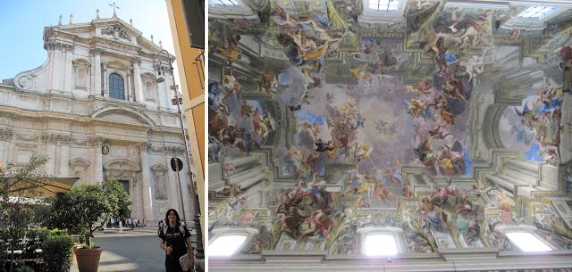 San Ignacio de Loyola en Roma
