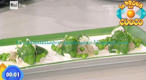 Fagottini di spigola al vapore con primosale e bieta ricetta Salvatori da Prova del Cuoco