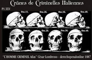 Resultado de imagem para lombroso criminologia