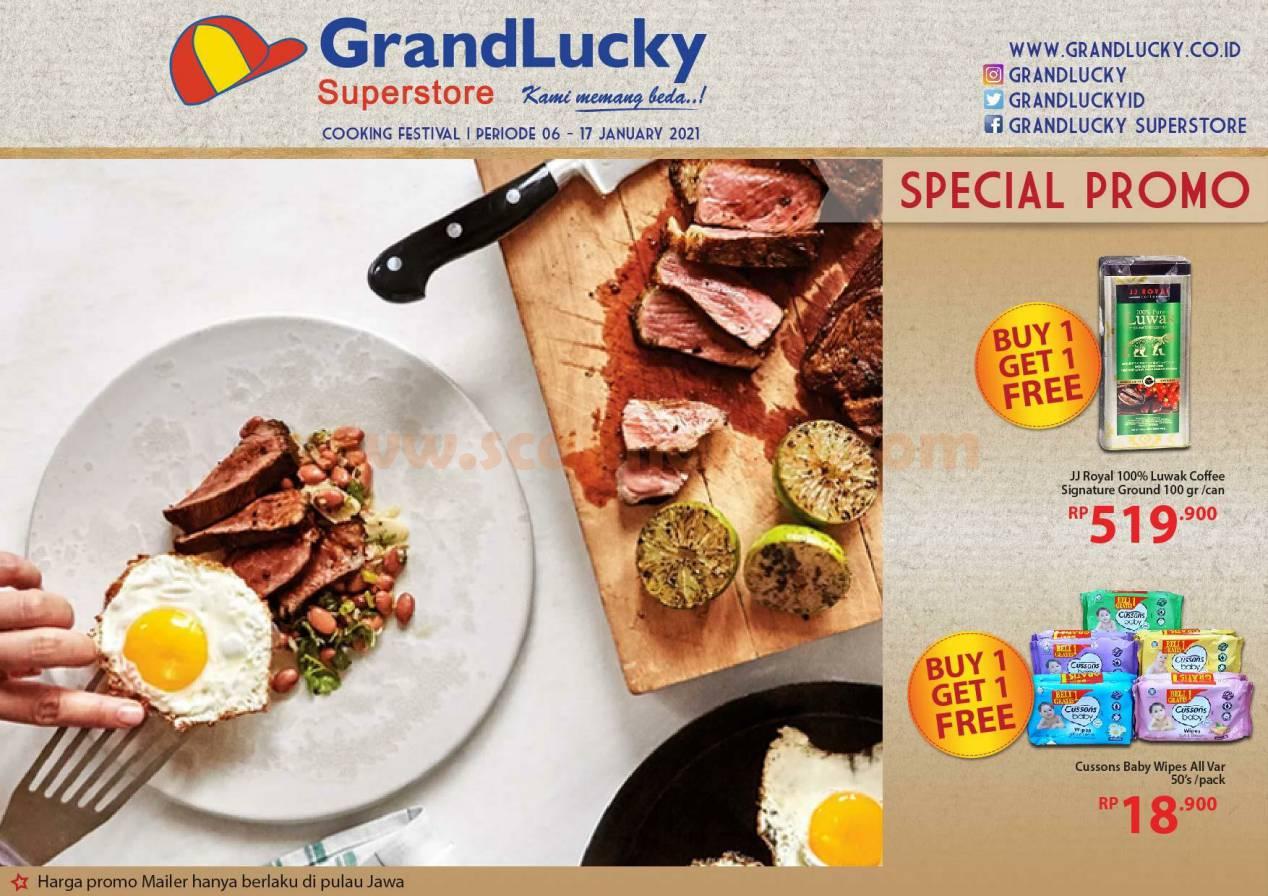 Katalog Promo Grand Lucky Superstore 6 - 17 Januari 2021