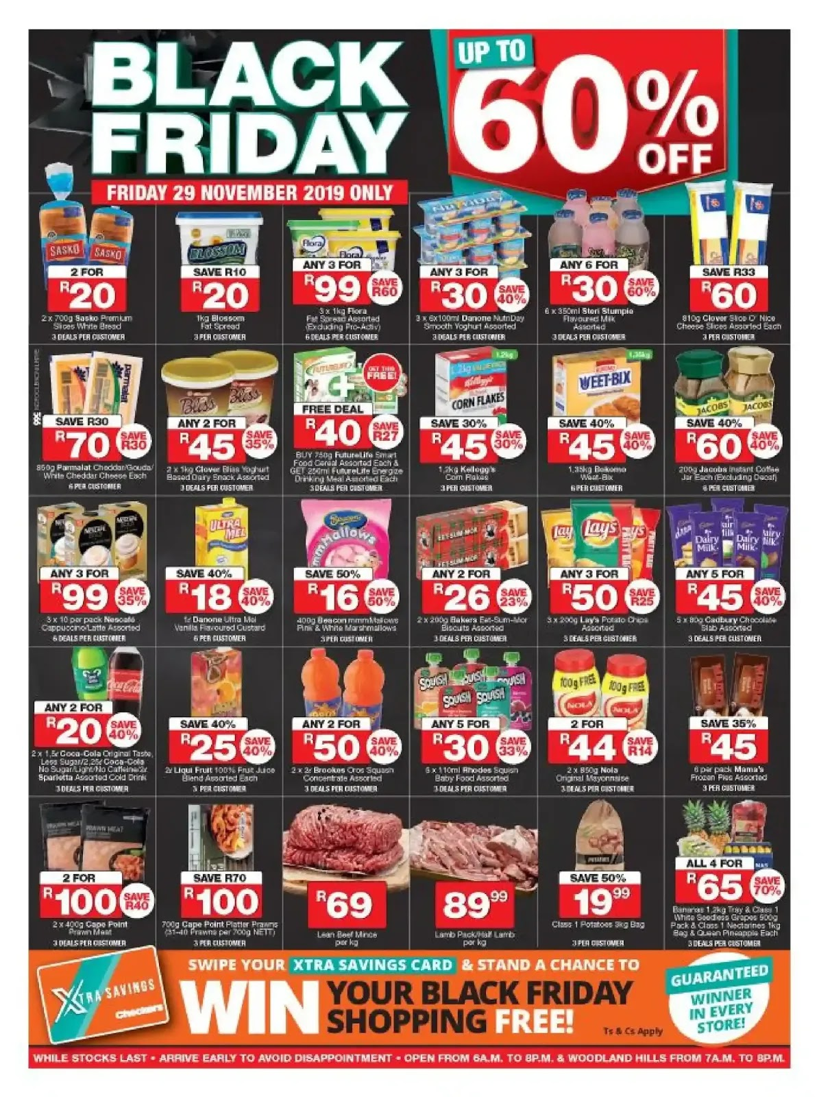 Updated 2019 Checkers Black Friday Deals Northern Cape Free State
