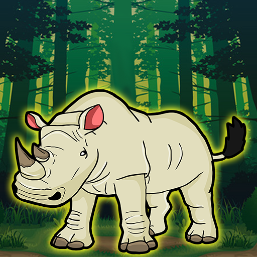 Play Games2Jolly White Rhinoceros Escape