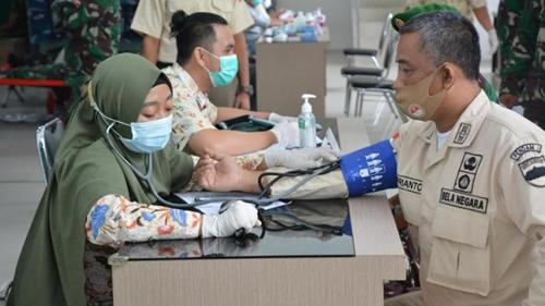 Donor Darah di Tengah Wabah Covid - 19, Ini Pesan Pangdam I/BB