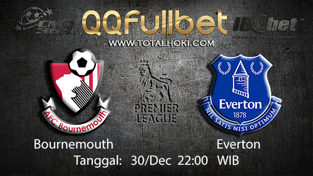 PREDIKSIBOLA - PREDIKSI TARUHAN BOLA BOURNEMOUTH VS EVERTON 30 DESEMBER 2017 ( ENGLISH PREMIER LEAGUE )