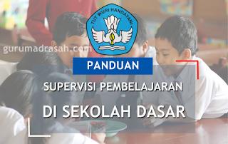 panduan supervisi pembelajaran sd