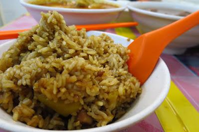 Yi Jia Chun (一家村), pumpkin rice