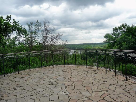 Батурин. Цитадель. Смотровая площадка на реку Сейм