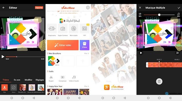 تحميل VideoShow pro في أحدث اصداراته من أفضل تطبيقات مونتاج فيديو المدفوع مجانا من ميديا فاير