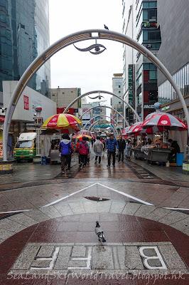 南韓釜山南浦BIFF廣場國際市場