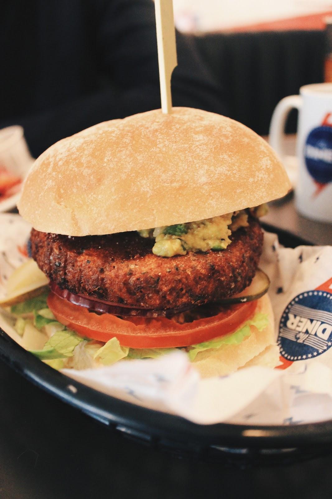 The Diner Vegetarian & Vegan Menu Review