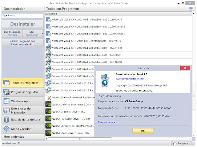 Revo Uninstaller Pro 4.3.8 (ACTIVADO)