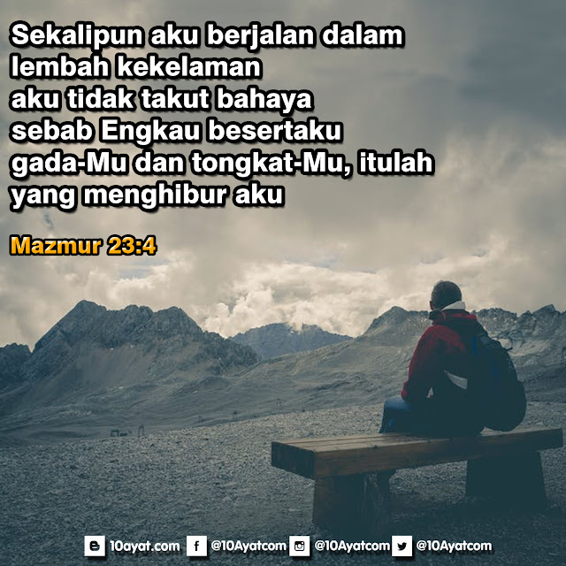 Mazmur 23:4