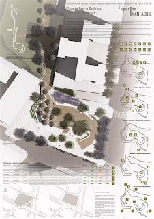 concurso arquitectura, concurso paisajismo, planos, láminas, estudiar, aprender