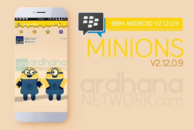 BBM Minions V2.12.0.9 - BBM Android V2.12.0.9