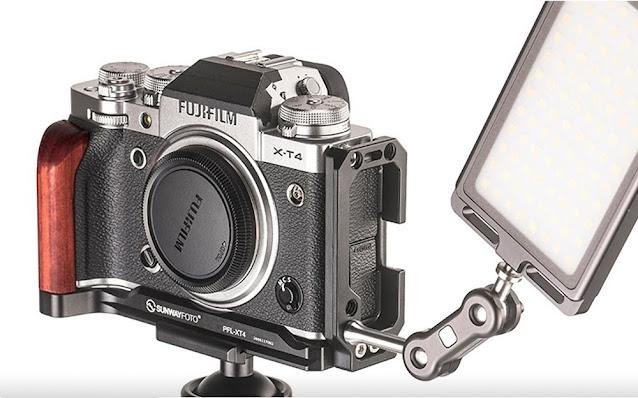 Sunwayfoto PFL-XT4 on Fujifilm X-T4 w/ accessories