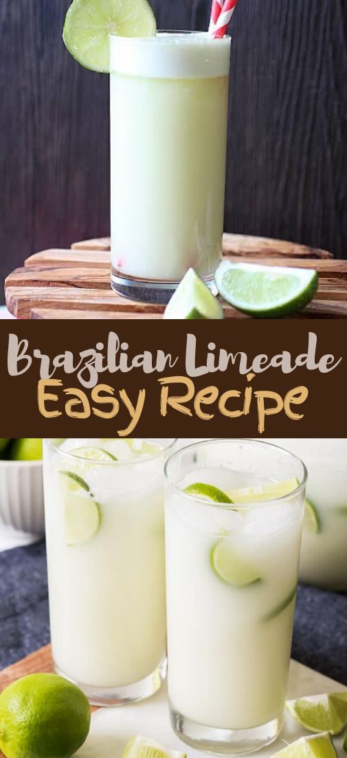 Brazilian Limeade #healthydrink #drinkrecipe #smoothiehealthy #cocktail