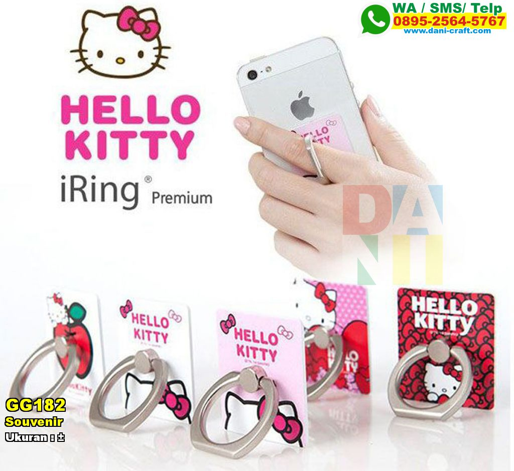 Souvenir Iring Hello Kitty Souvenir Pernikahan