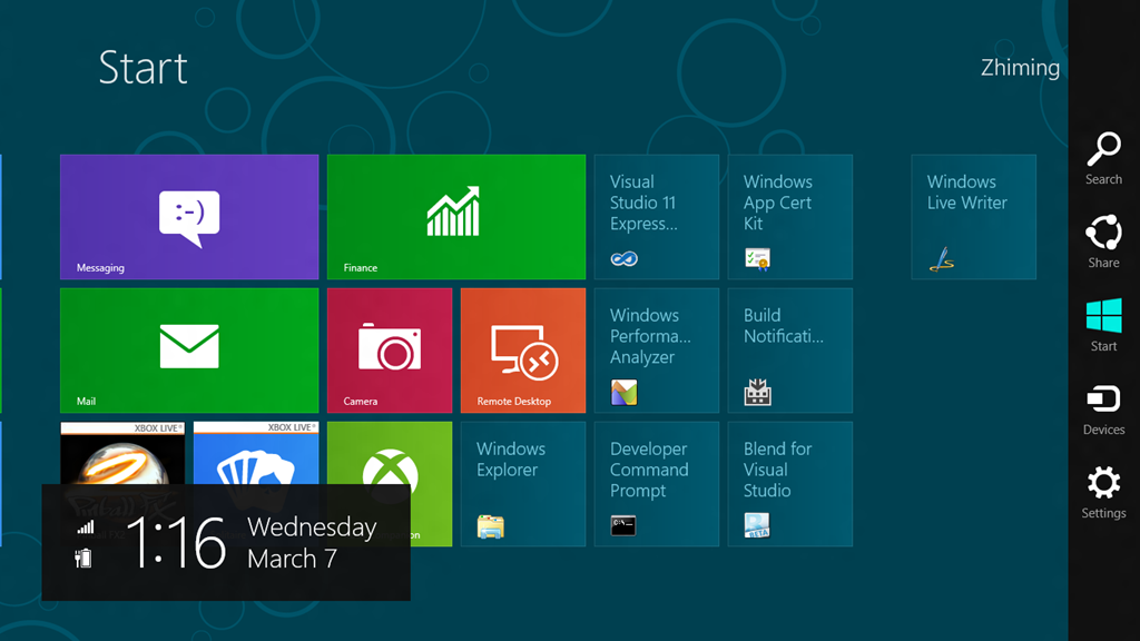 Windows 8 Search UI in Windows 10