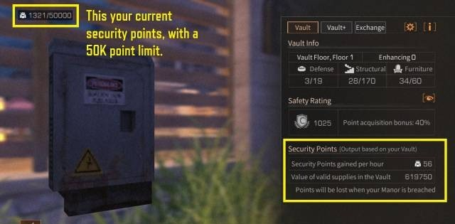 How to Earn Security Points LifeAfter