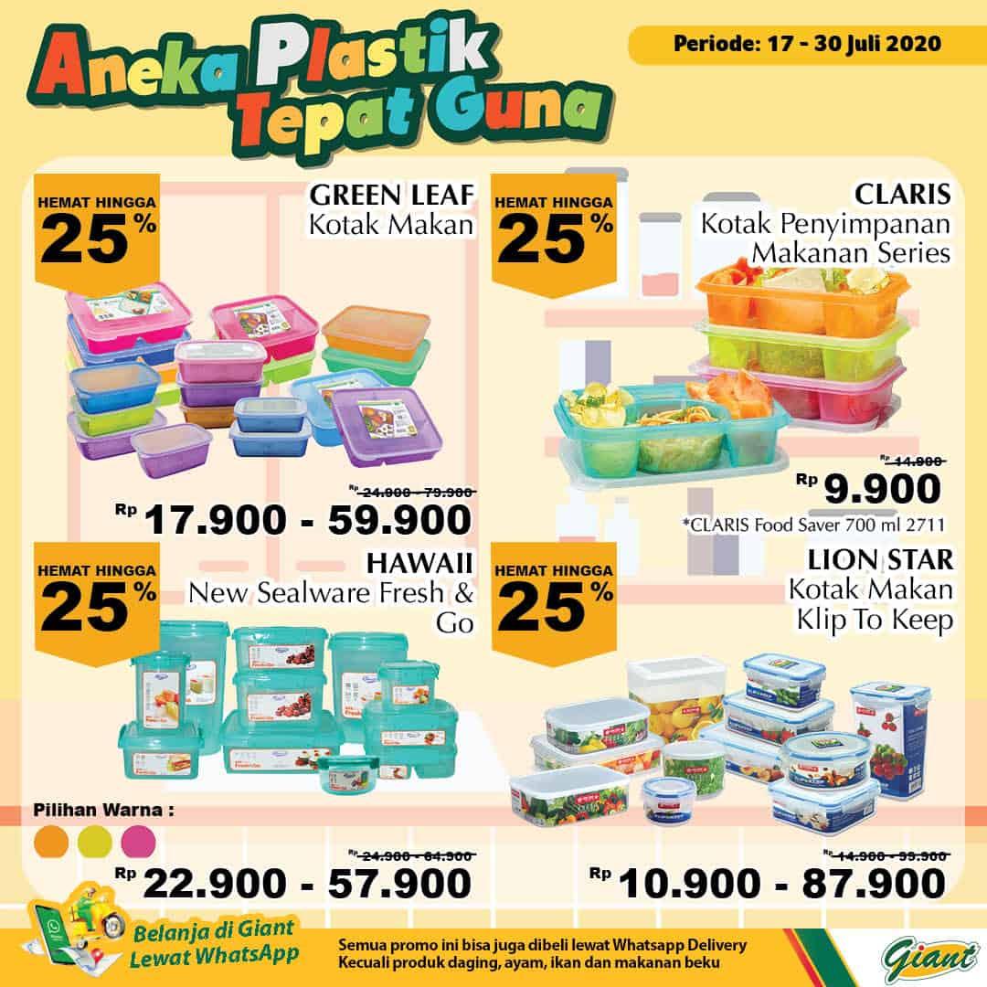 Giant GMS Promo Aneka Plastik Tepat Guna Periode 17 - 30 Juli 2020 2